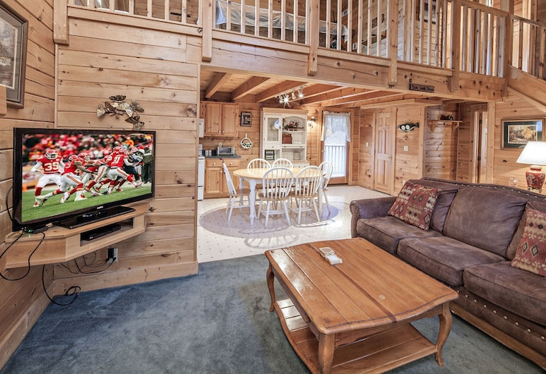 Heavenly View by Eagles Ridge Resort, Pigeon Forge, Hytte, 2 soverom, Stue