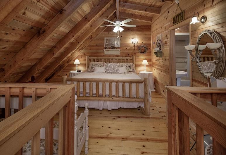 Jalyns Treehouse by Eagles Ridge Resort, Pigeon Forge, Cabaña, 2 habitaciones, Habitación
