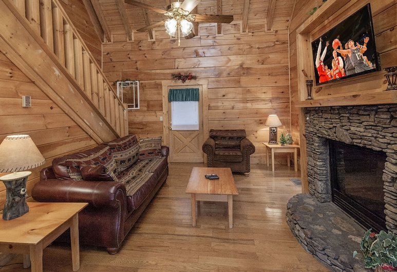 Mountain Rendezvous by Eagles Ridge Resort, Pigeon Forge, Μικρό Σπίτι, 1 Υπνοδωμάτιο, Καθιστικό