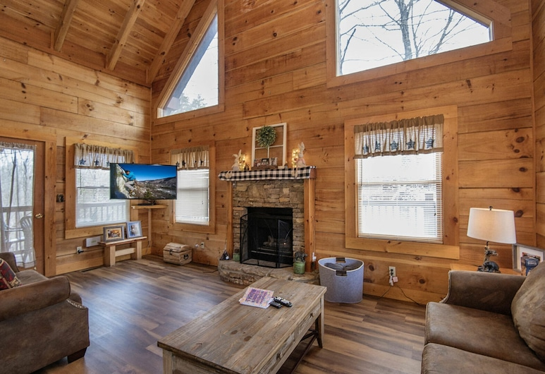 Savage Loft by Eagles Ridge Resort, Pigeon Forge, Cabin, 2 Bedrooms, Living Room