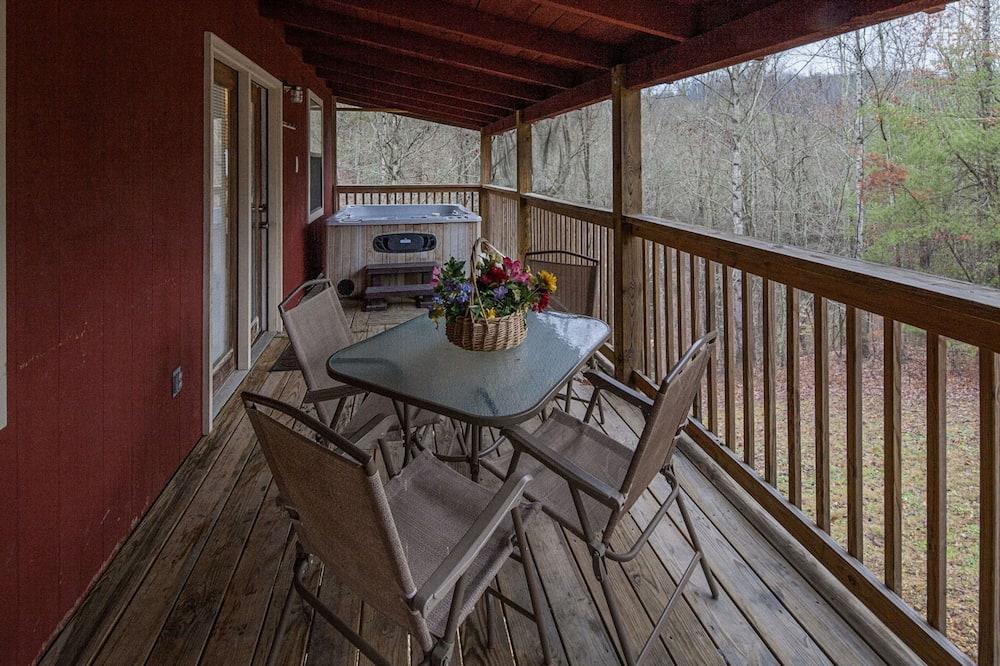 Ferienhütte, 3Schlafzimmer - Balkon