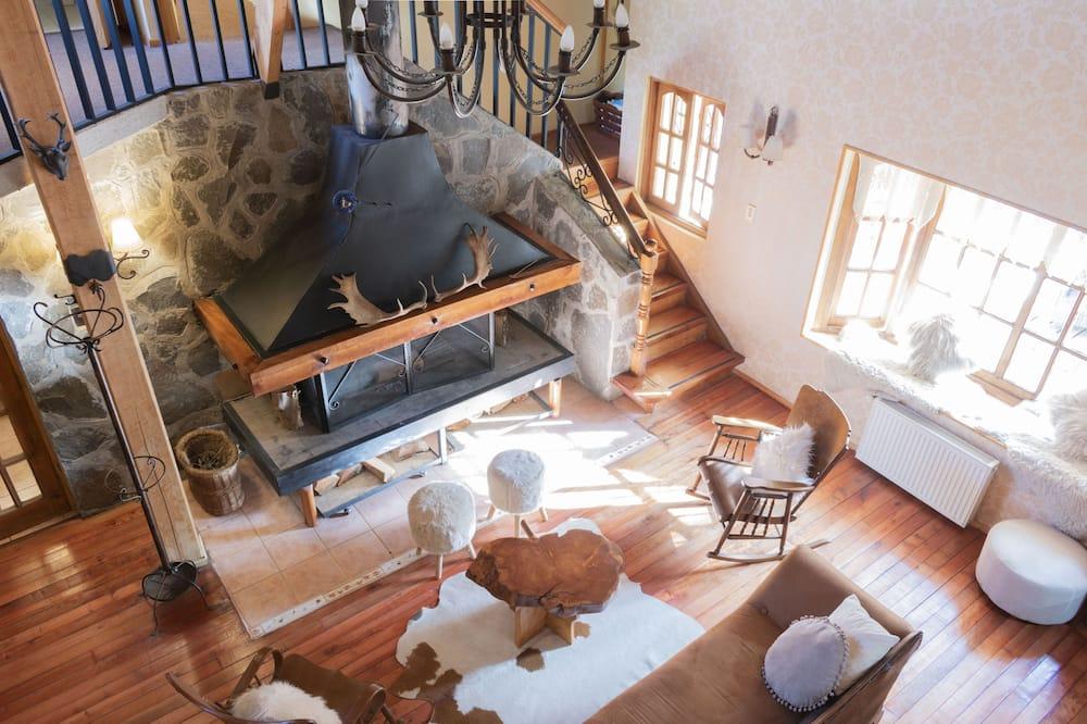 Refugio Privado - Sala de estar