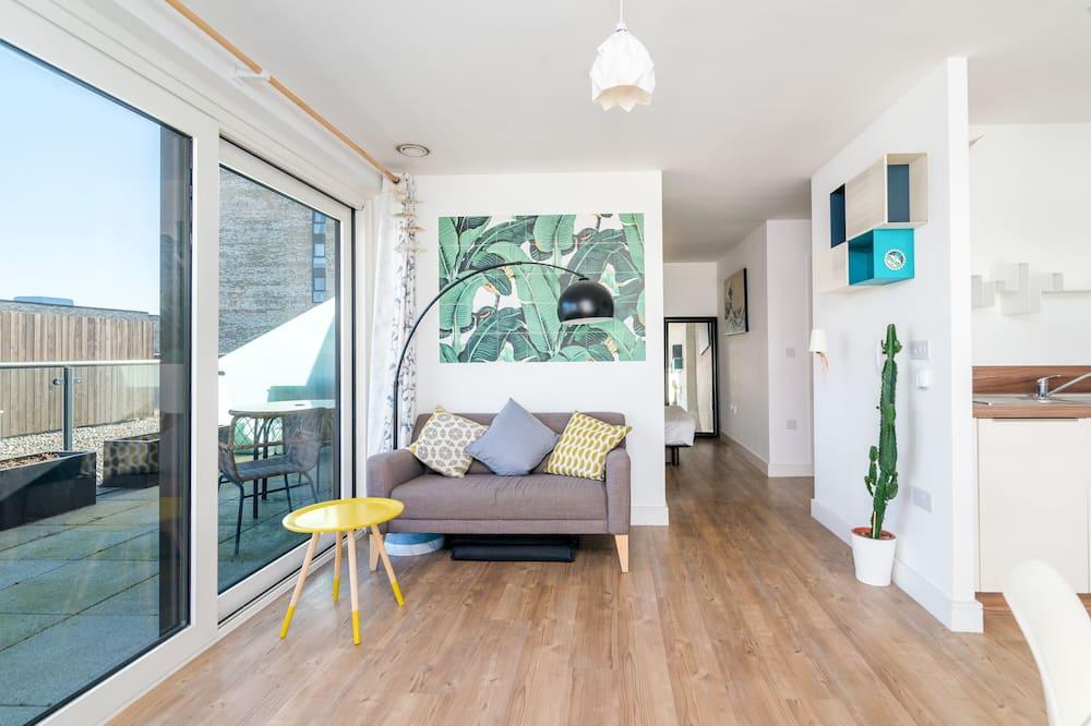 Apartamento (1 Bedroom) - Área de Estar