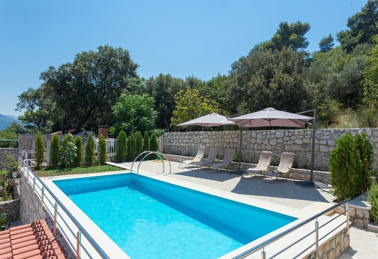 Romantic apartment for 2 with pool, Dubrovnik, Piscina externa