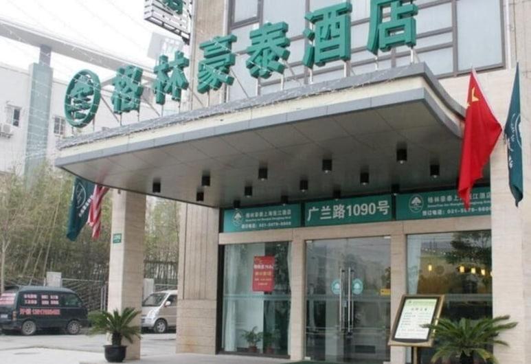 Greentree INN Jiangsu Xuzhou Peixian BUS Station T, Xuzhou, Vista dall'hotel