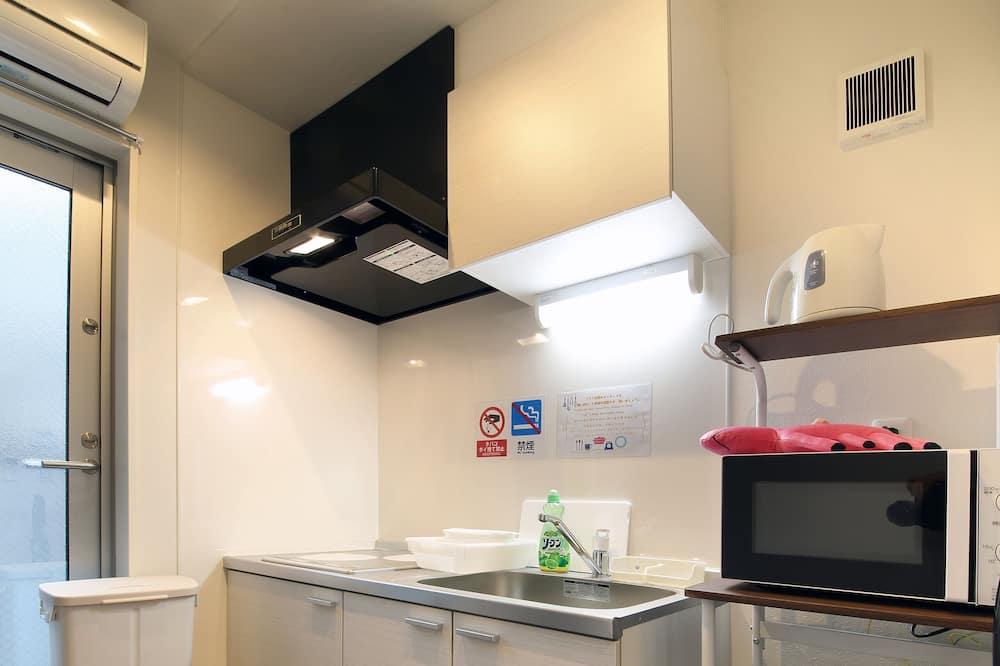 Basic Tek Kişilik Oda, 1 Yatak Odası - Ortak mutfak