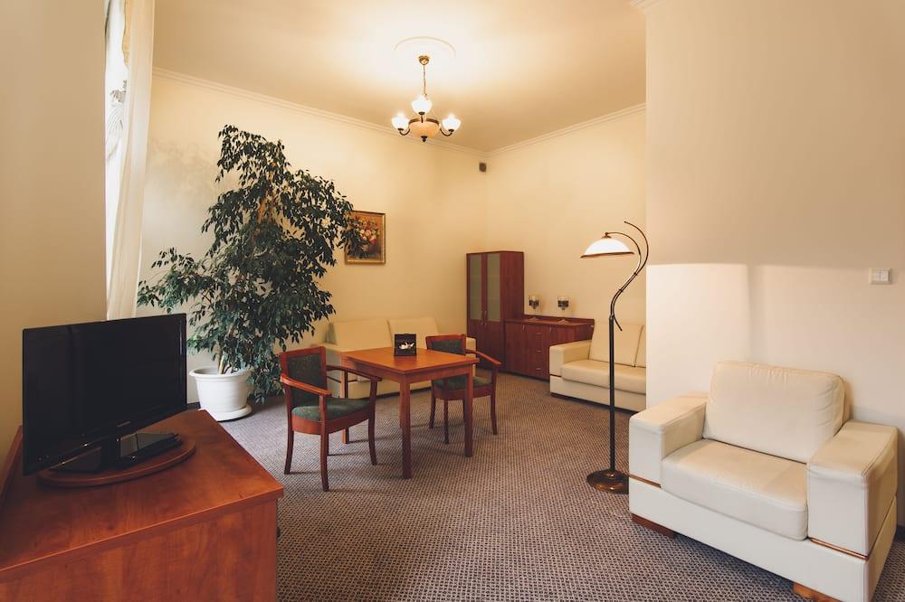 Standard Tek Büyük Yataklı Oda, 2 Tek Kişilik Yatak - Oturma Alanı