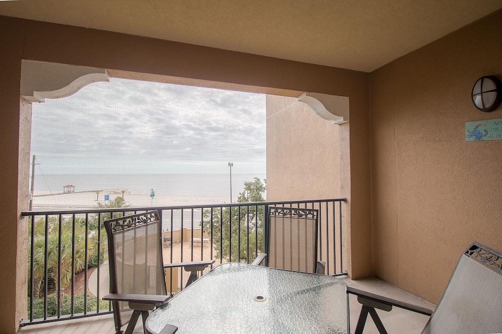 Lägenhet - flera sängar - privat pool - utsikt mot stranden - Bild