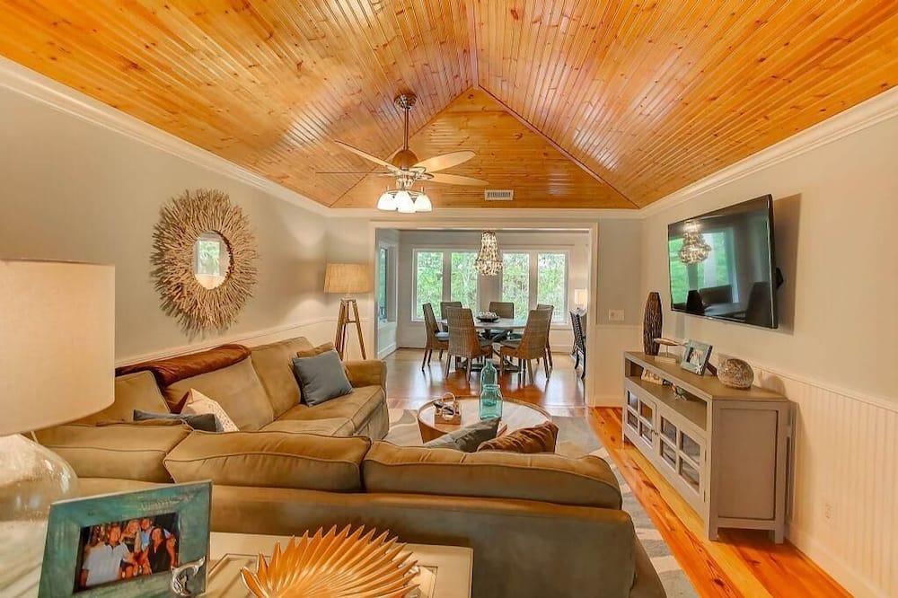เคบิน, หลายเตียง (29 Twin Oaks) - ห้องนั่งเล่น