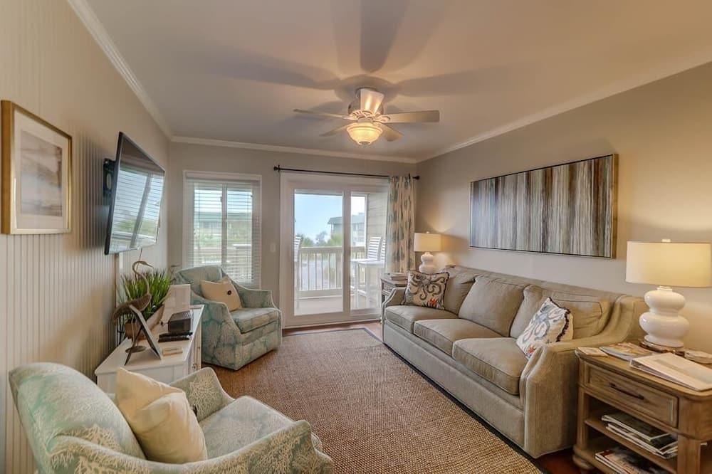 Apartment, Mehrere Betten (309C Oceanside Villas) - Wohnzimmer