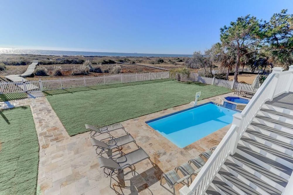 House, Multiple Beds (3602 Palm Boulevard) - Pool