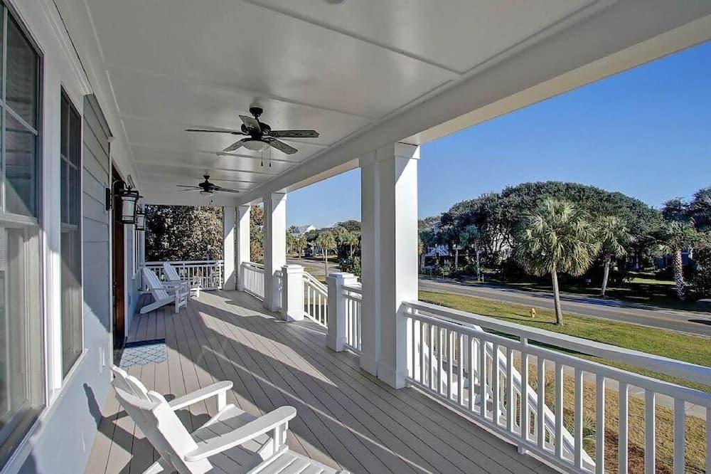 單棟房屋, 多張床 (2301 Palm Boulevard) - 露台