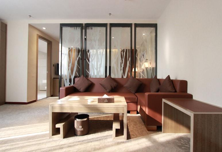 Bo Yi Hotel, Guangzhou, Deluxe Suite, Guest Room