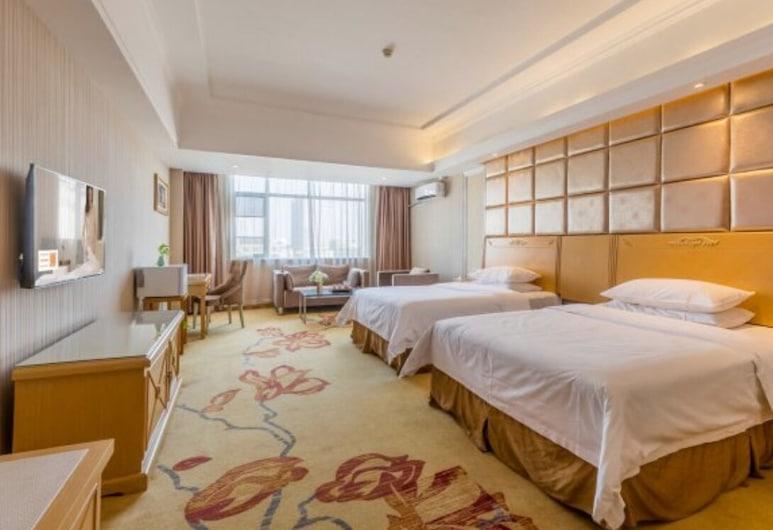 维也纳酒店(广州番禺桥南奥园广场店), 广州市, 商务双床房, 客房