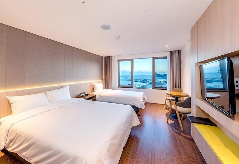 Noblepia Hotel, Seogwipo, Deluxe Twin Room, Guest Room