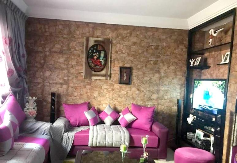 Apartment With 2 Bedrooms in Agadir, With Enclosed Garden and Wifi, Agadiras, Svetainė