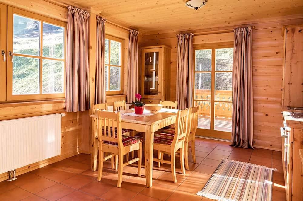 Apartment (Kreuzkogel) - Essbereich im Zimmer