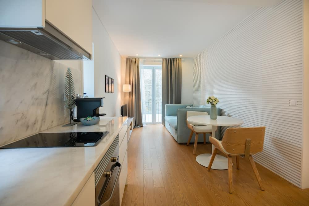 Appartement, 1 slaapkamer - Woonruimte