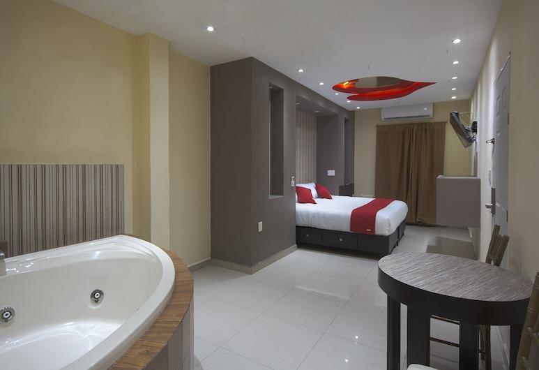 OYO Hotel Maria Elena Tampico, Ciudad Madero, Habitación Deluxe doble, Habitación