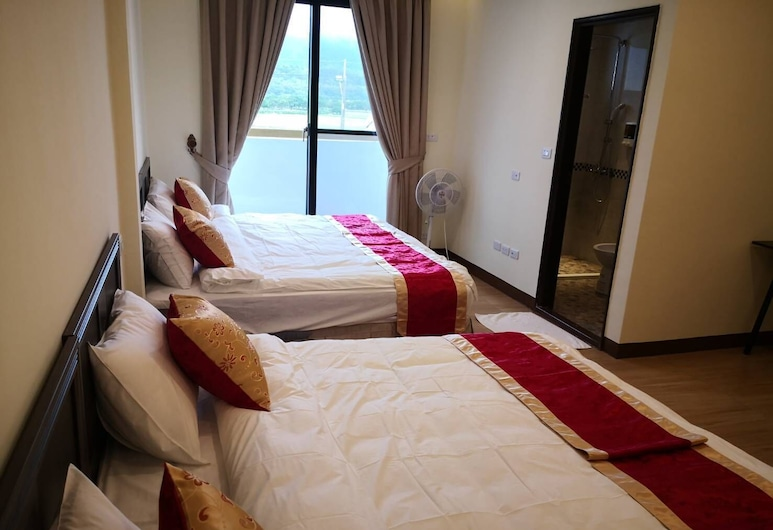 Jinyou Hotel, Chishang, Habitación cuádruple estándar, Habitación
