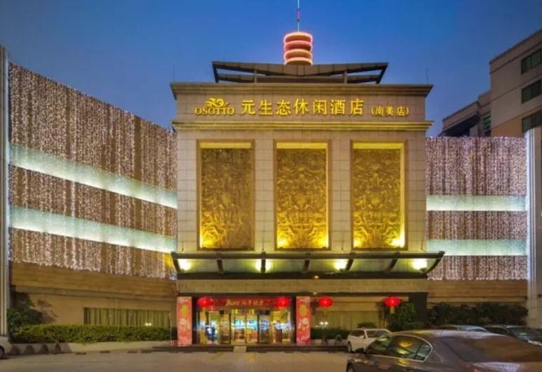 Guangzhou Nanmei Osotto Recreation Hotel, Guangzhou, Fachada do Hotel - Tarde/Noite