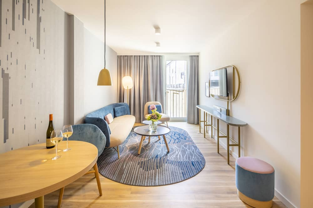 Executive Apart Daire, 1 Yatak Odası - Oturma Alanı