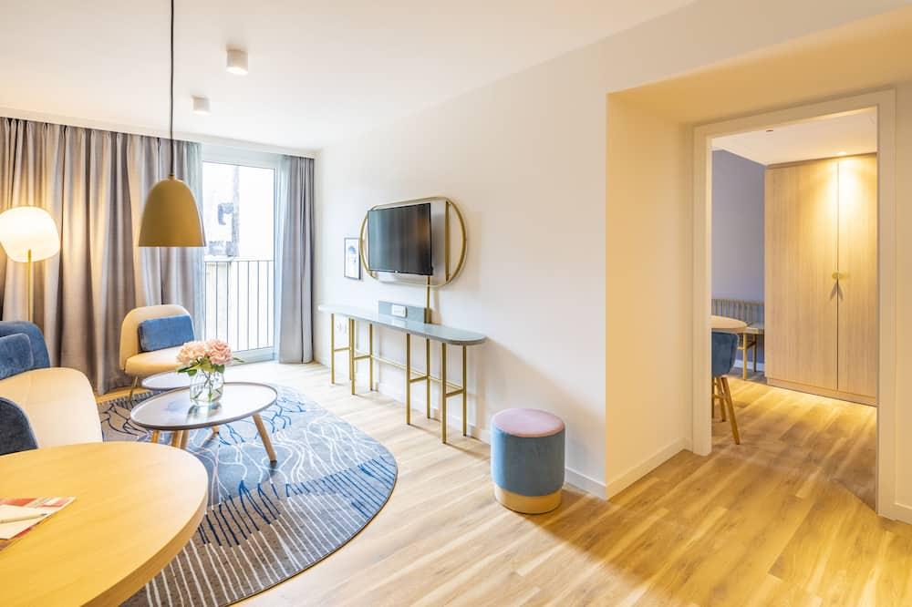 Deluxe Apart Daire, 1 Yatak Odası - Oturma Alanı