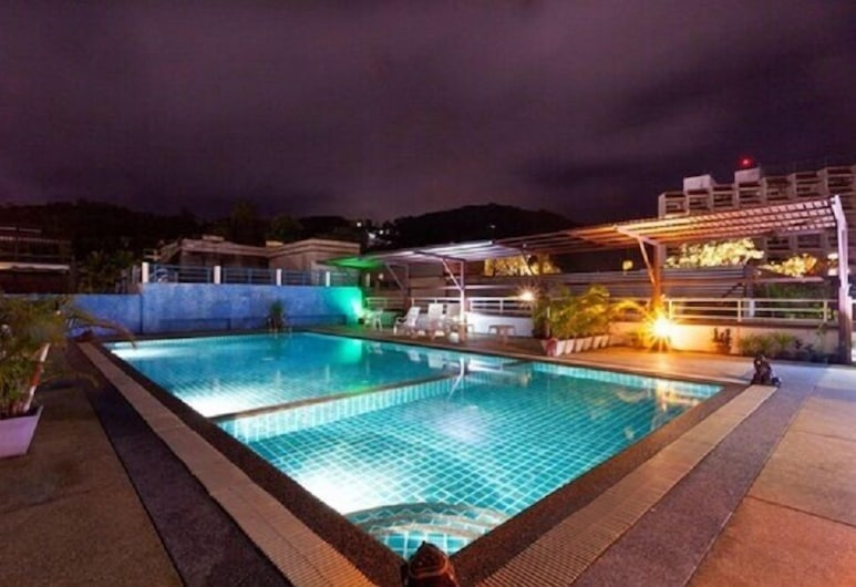 Larn Park Resortel, Patong, Outdoor Pool