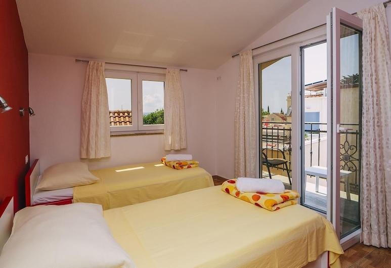 Deluxe Apartments Centar, Baška Voda, Deluxe apartman, Pogled iz sobe