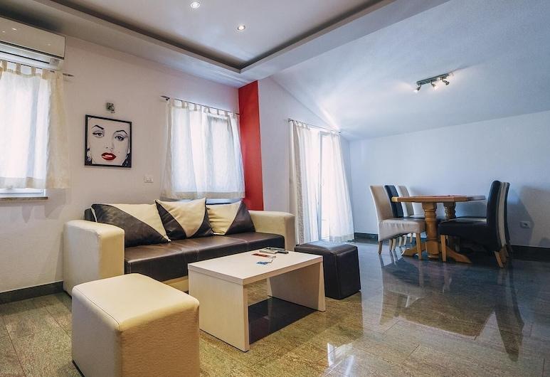 Luksuzni apartmani Centar, Baška Voda, Deluxe apartman, Dnevni boravak