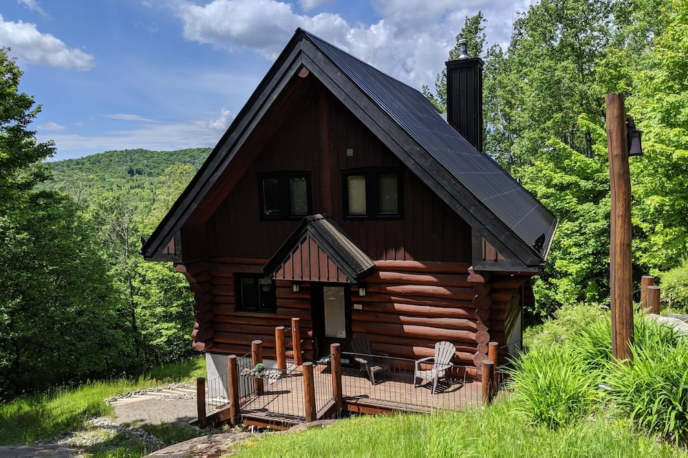 Mont Tremblant Cote Nord Tremblant Log Cabin With spa