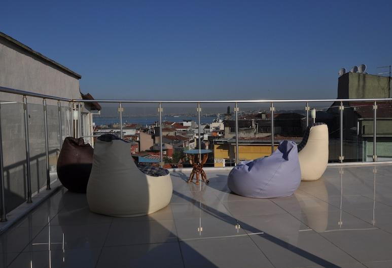 Khalkedon Hotel Istanbul, Istanbul, Terrasse/veranda
