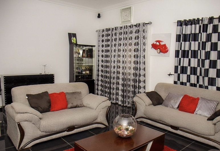 Tastefully Furnished Home in Spintex, Accra, Living Room