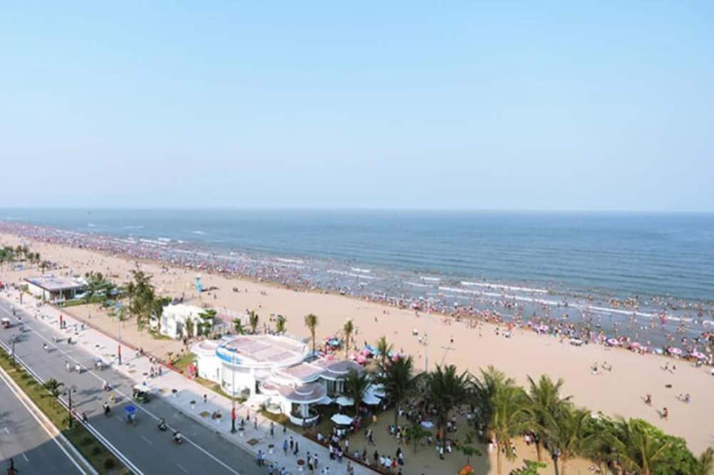 Chambre Deluxe Double ou avec lits jumeaux, vue océan - Vue sur la plage/la mer