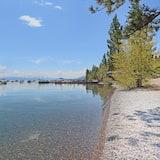 Hus, flere senger (Club Tahoe - cabin, quiet location) - Strand