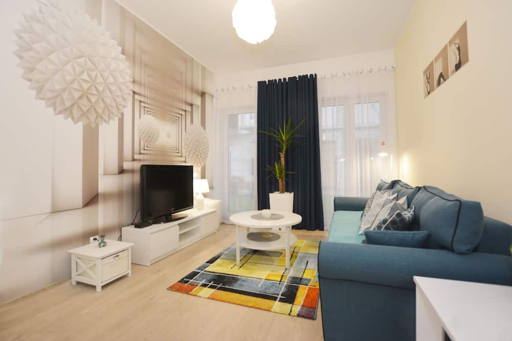 Comfort Apartment (13 Bałtycka6) - Living Room