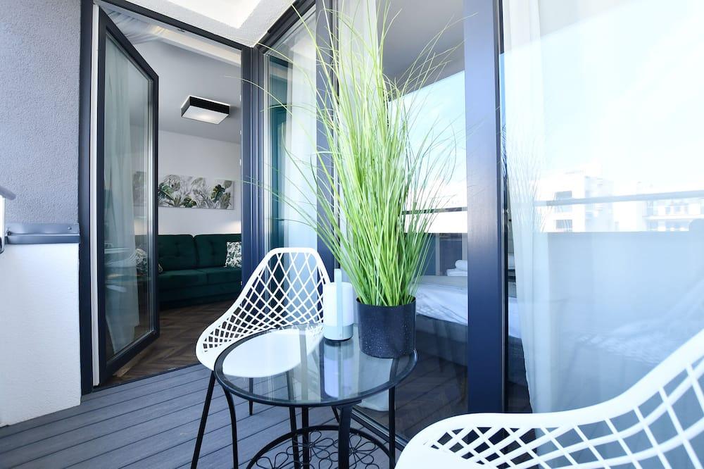 Apartament typu Comfort (Biały DOM 43) - Balkon