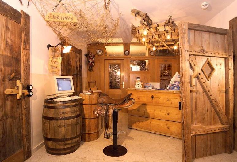 Hotel Pension Seighof in Saalbach, Saalbach-Hinterglemm, Quầy tiếp tân