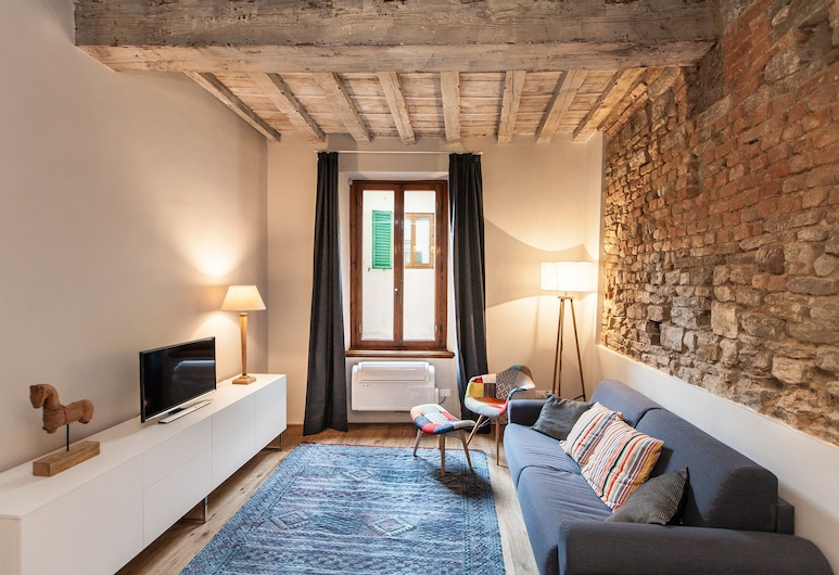 Mamo Florence - Boheme Apartment, Florencija, Apartamentai, 1 miegamasis, Svetainės zona