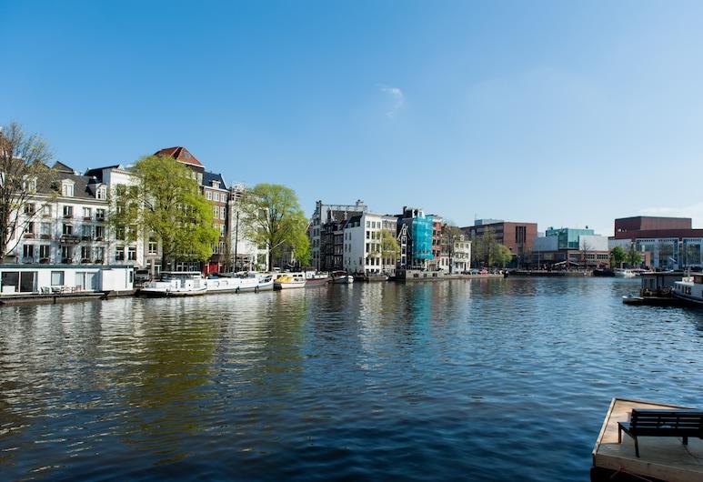 Canal Suite City Centre, Amsterdam, Udsigten fra overnatningsstedet