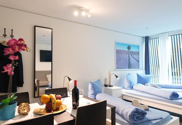Hitrental Allmend Comfort Studios, Lucerne, Salle de séjour
