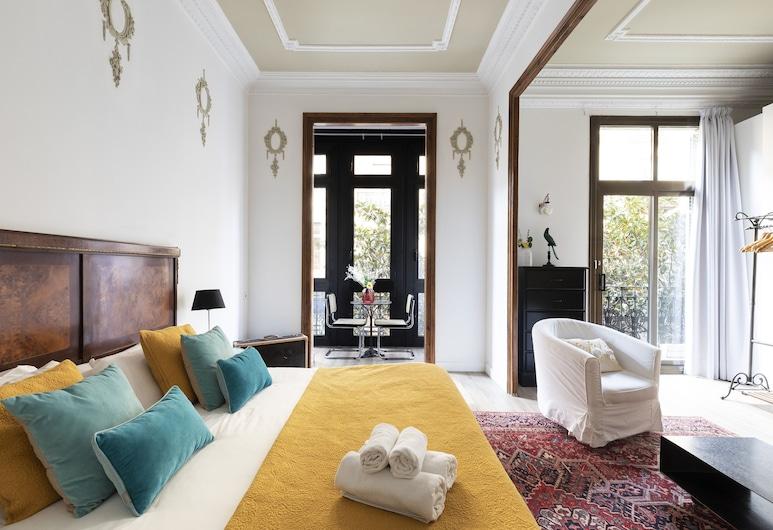 Brunch on the Sunn & Terrace in Lively Gracia, Barcellona, Appartamento, 4 camere da letto, Camera