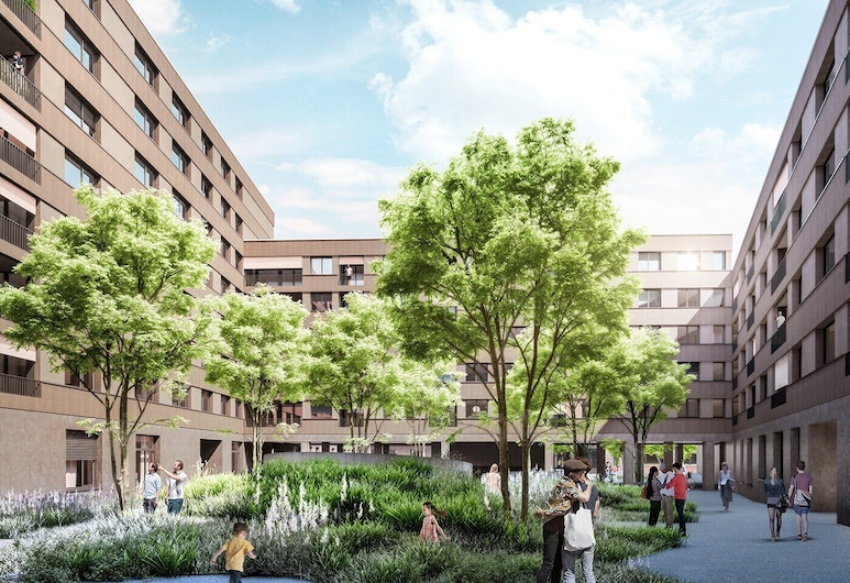 Hitrental Messe Apartments, Basel, Property Grounds
