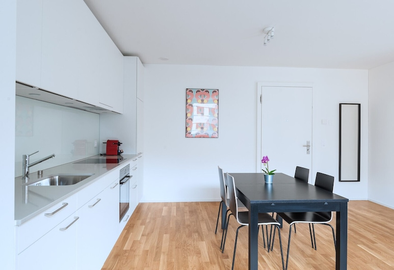 Hitrental Messe Apartments, Basel, Private kitchen