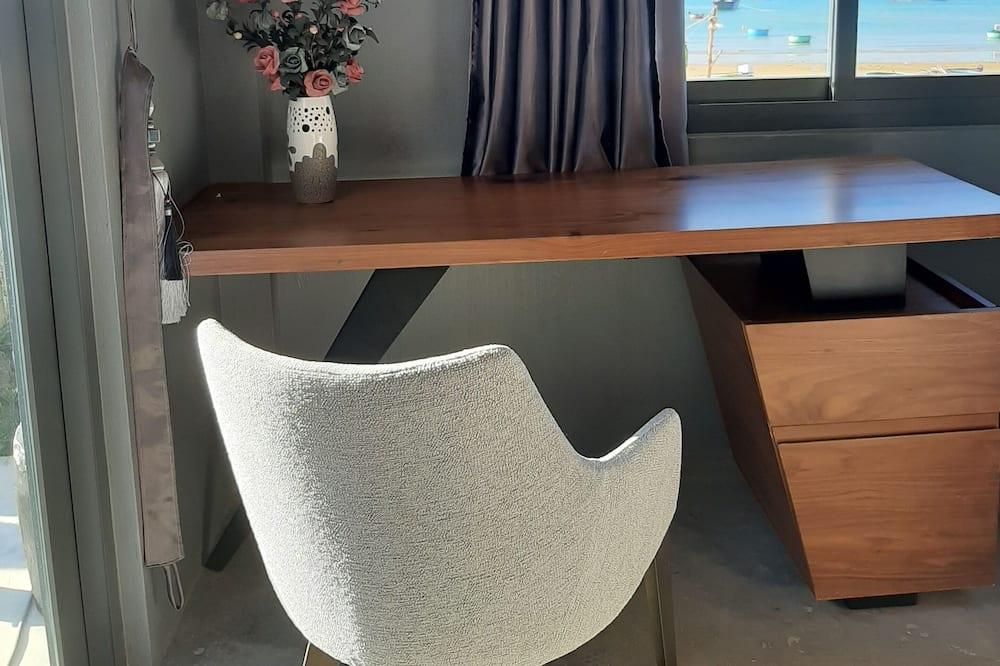 Camera, vista spiaggia (Lily Bungalow) - Area soggiorno
