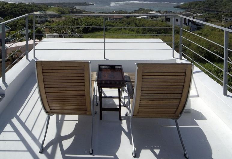 Private Resort Hotel RENN, Miyako-jima, Chambre avec lits jumeaux, Balcon