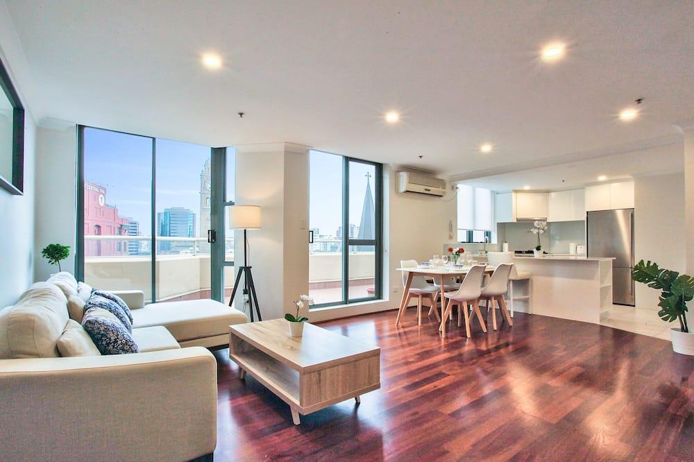 Apartmán typu City, 2 ložnice, 2 koupelny, výhled na město - Hlavní fotografie