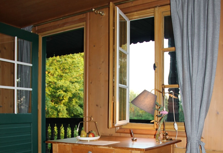 Villa Zollhaus Bed & Breakfast, Tuerkheim, Pokój dwuosobowy typu Deluxe, Z widokiem na ogród