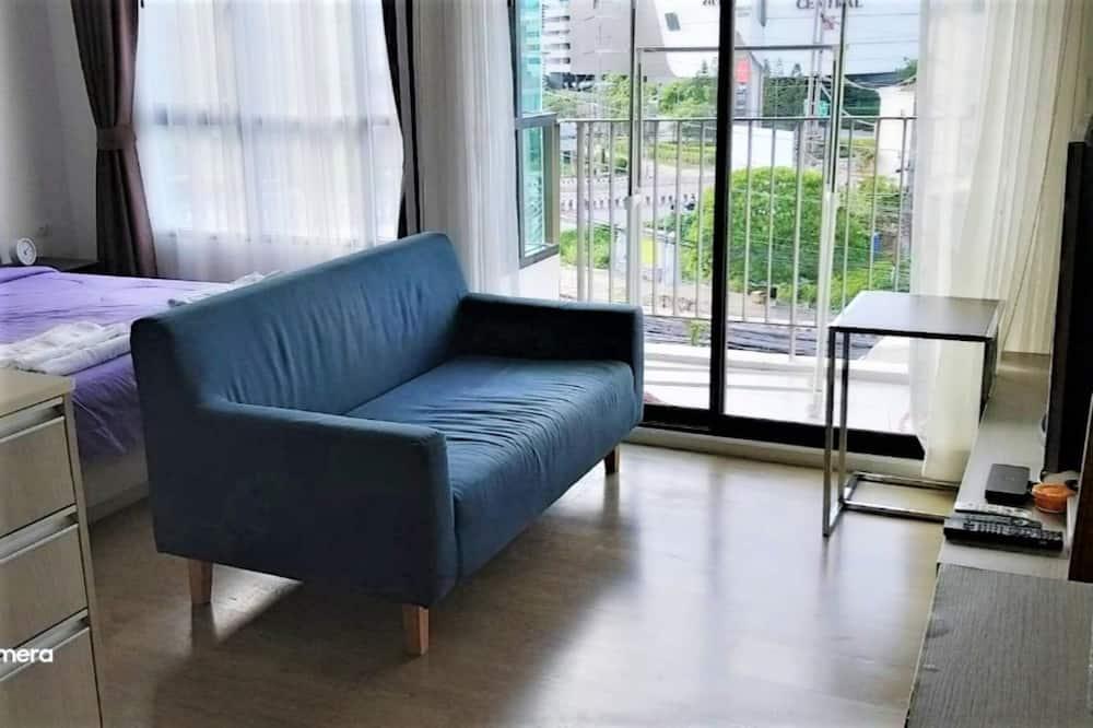 جناح - غرفة نوم واحدة - غرفة معيشة