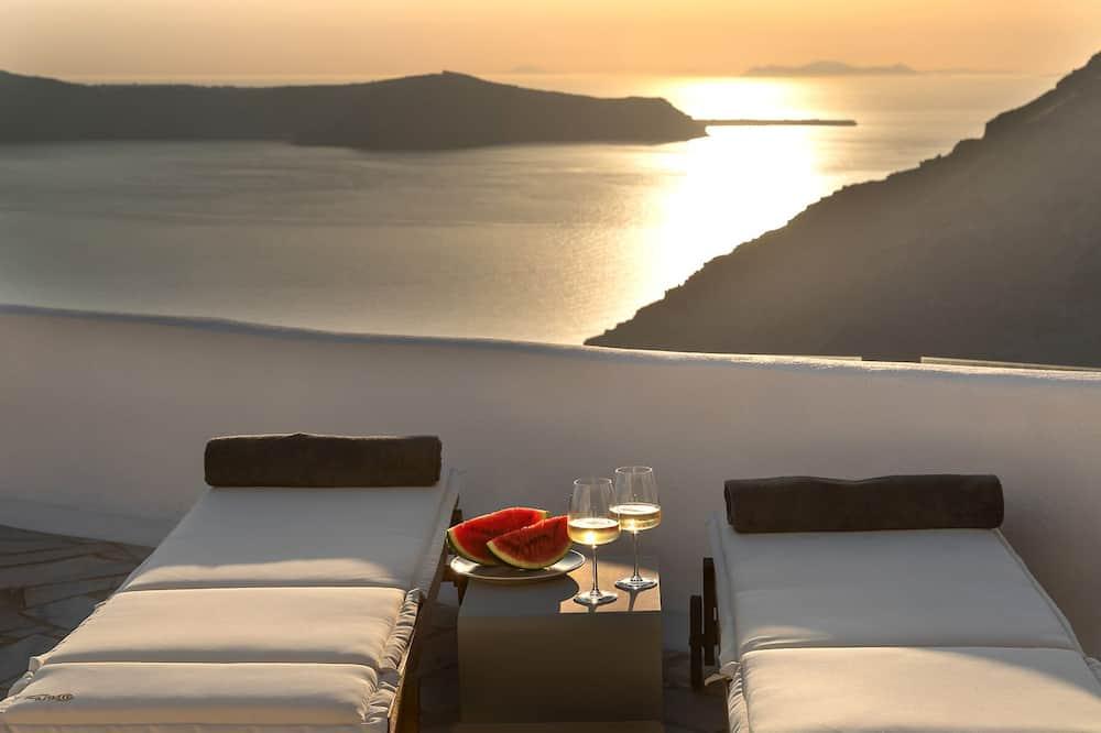 Villa, Hot Tub, Sea View - Balkoni